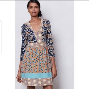 Anthropologie Pinkerton Fable Print Floral Dress